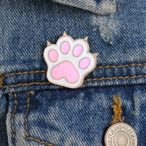 Cat Paw Pin NEW